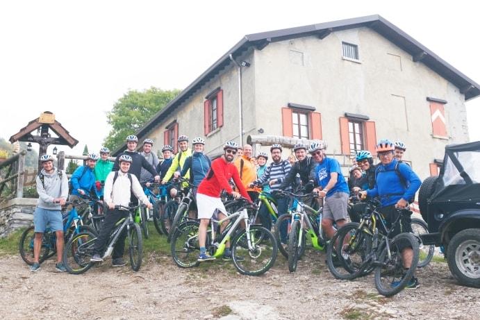 e-bike experience lake como