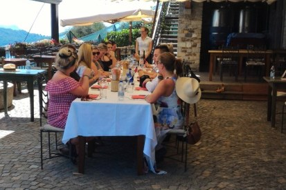 Private and corporare dinner on italian lakes